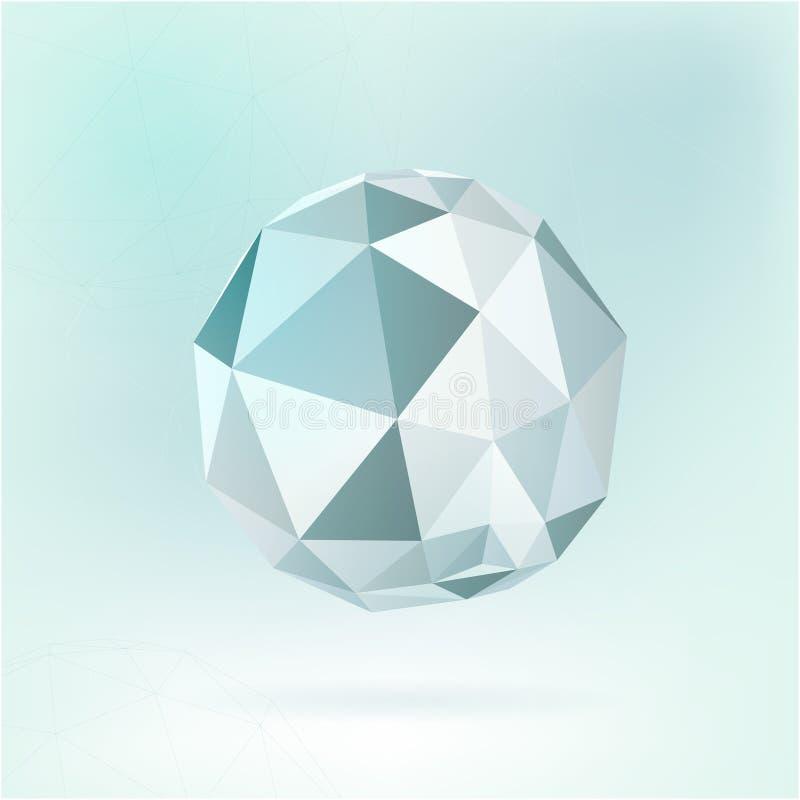 多角形形状 皇族释放例证