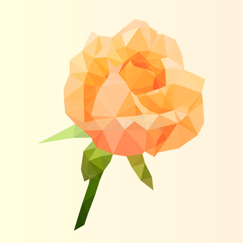 Download 多角形桔子上升了,多低金刚石花,传染媒介 向量例证. 插画 包括有 艺术, 装饰, 橙色, 几何, 华伦泰 - 72354116