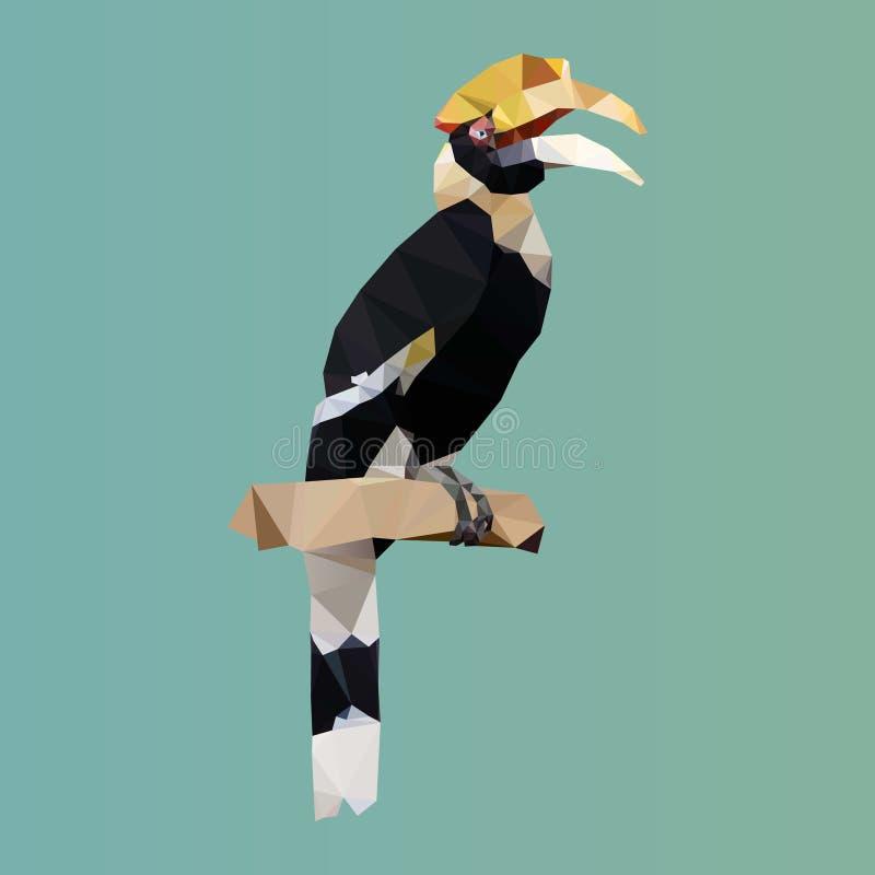 Download 多角形犀牛犀鸟,多角形三角鸟,传染媒介 向量例证. 插画 包括有 徽标, 艺术, 图象, 例证, 表单, 锋利 - 72354134