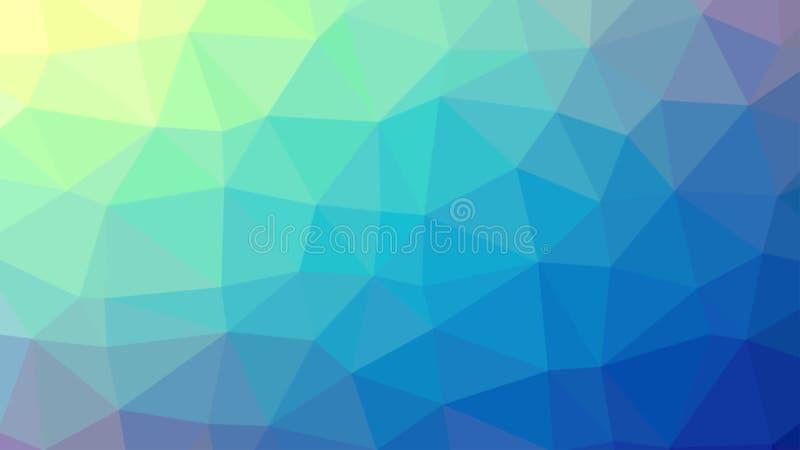 多角形背景,创造性的设计模板 库存照片
