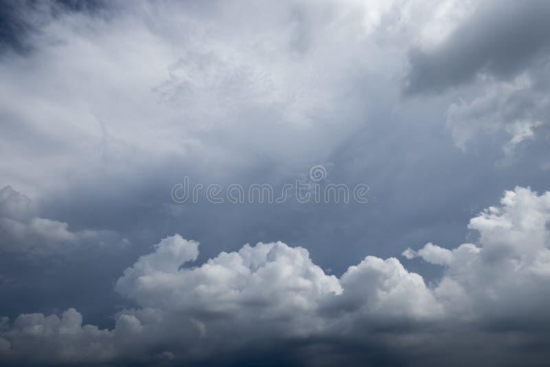 多雨云彩 库存图片