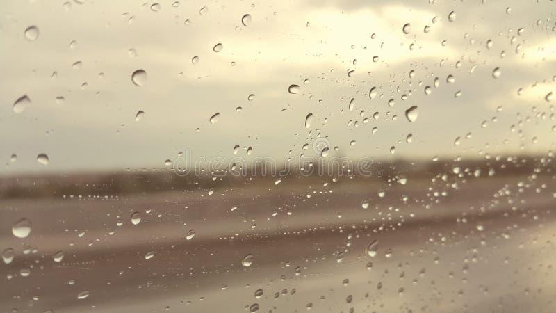 多雨 免版税库存照片