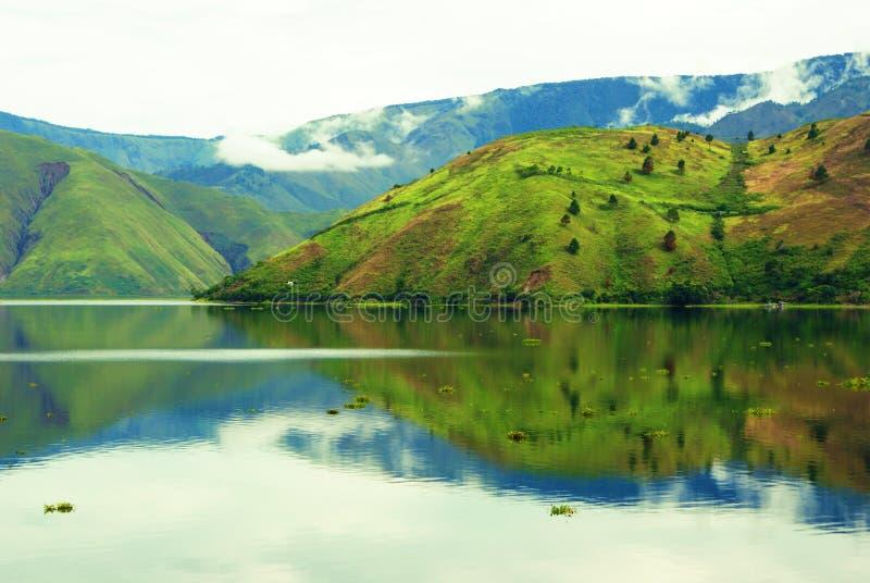 多巴湖,苏门答腊 库存图片