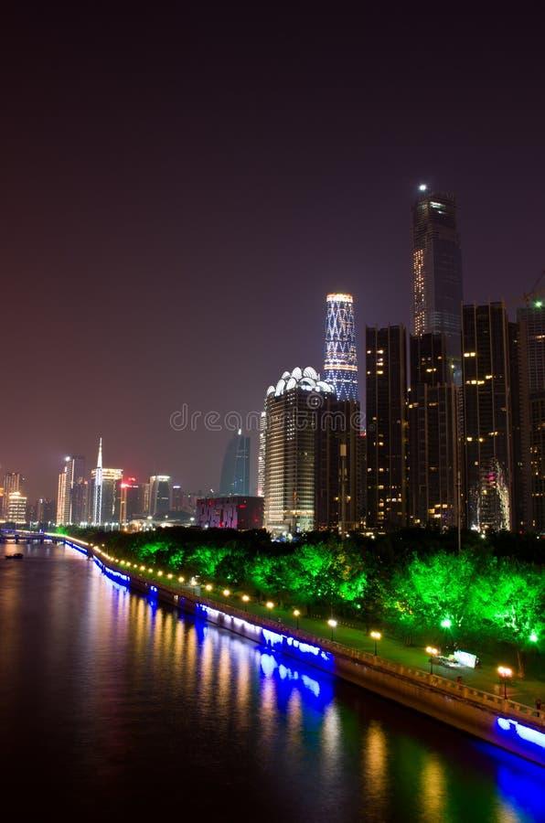 夜在广州 图库摄影