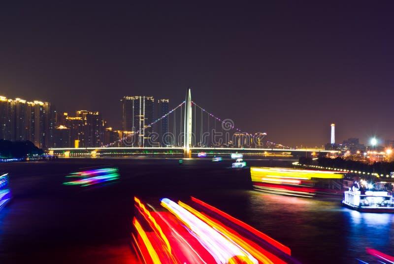 夜市广州 图库摄影