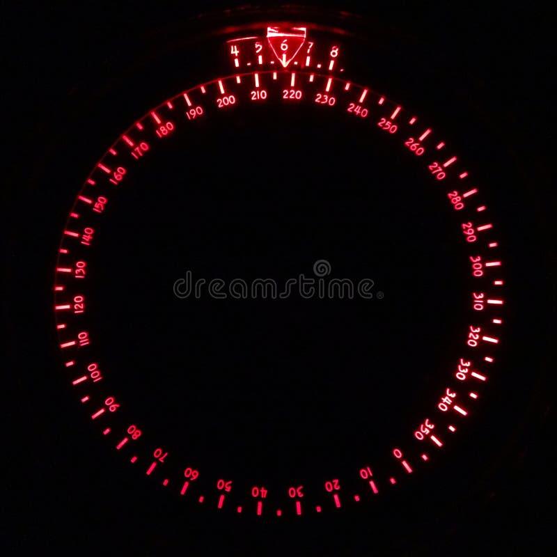 夜指南针 库存图片