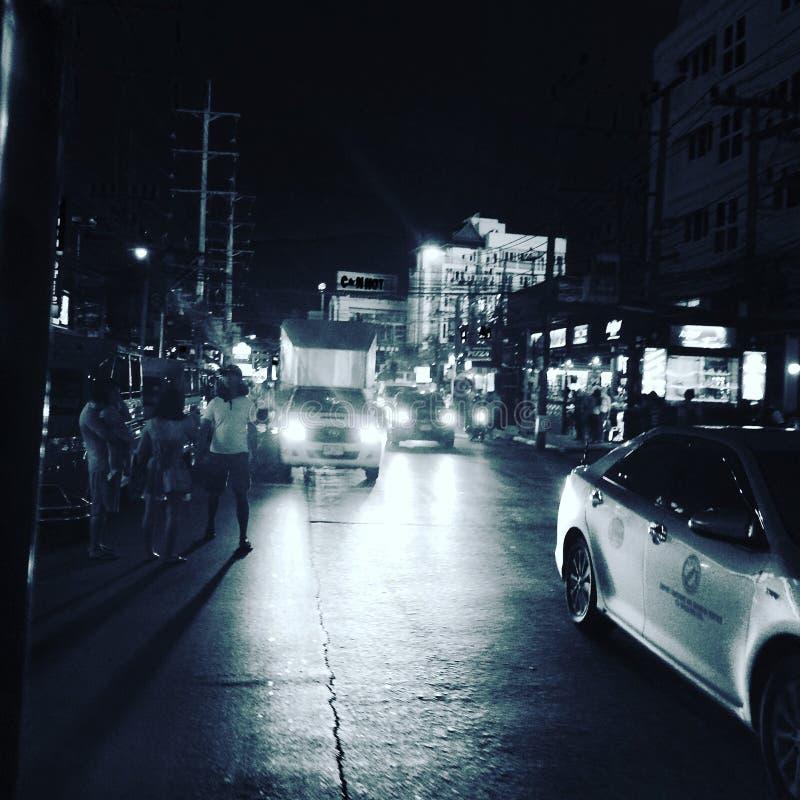 夜生活 免版税库存图片