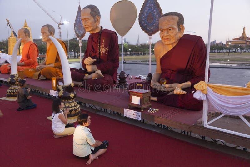 夜祷告 免版税图库摄影