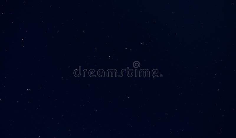 夜空与星星 库存照片