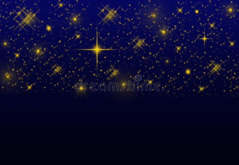 夜空星背景 库存照片