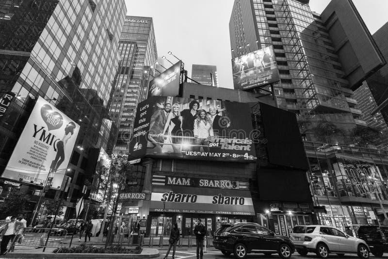 夜纽约 免版税库存图片