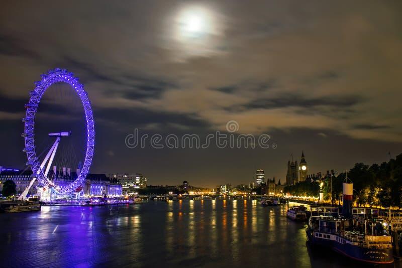 伦敦地平线 免版税图库摄影