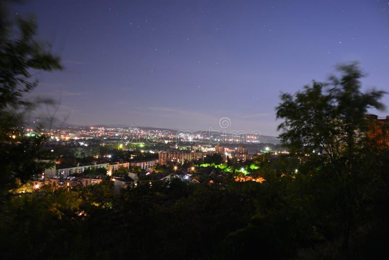 夜辛菲罗波尔003 图库摄影