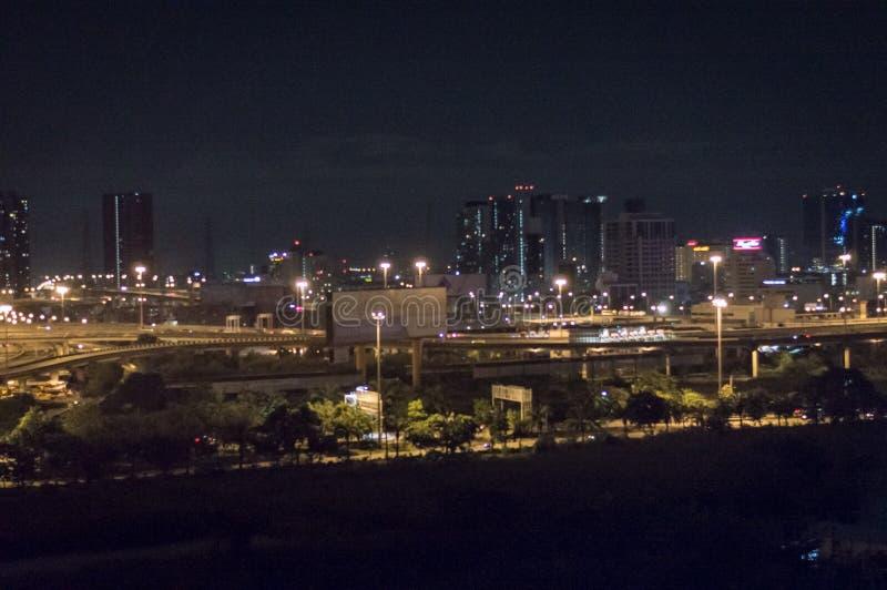 夜间在曼谷 图库摄影
