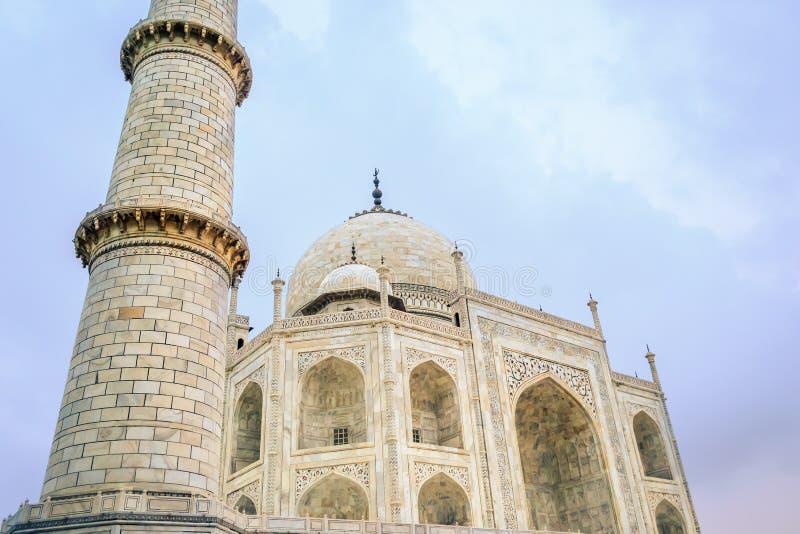 夜间遗产印度mahal站点taj科教文组织世界 库存照片