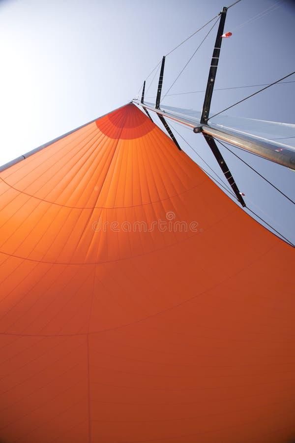 大三角帆星期日 库存照片