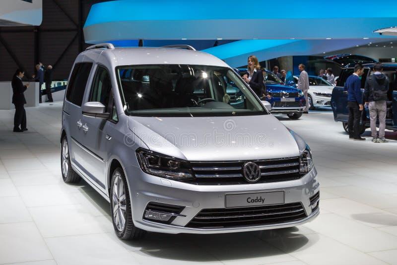 2015年大众小型运车 免版税库存图片