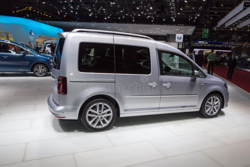 2015年大众小型运车 免版税库存照片