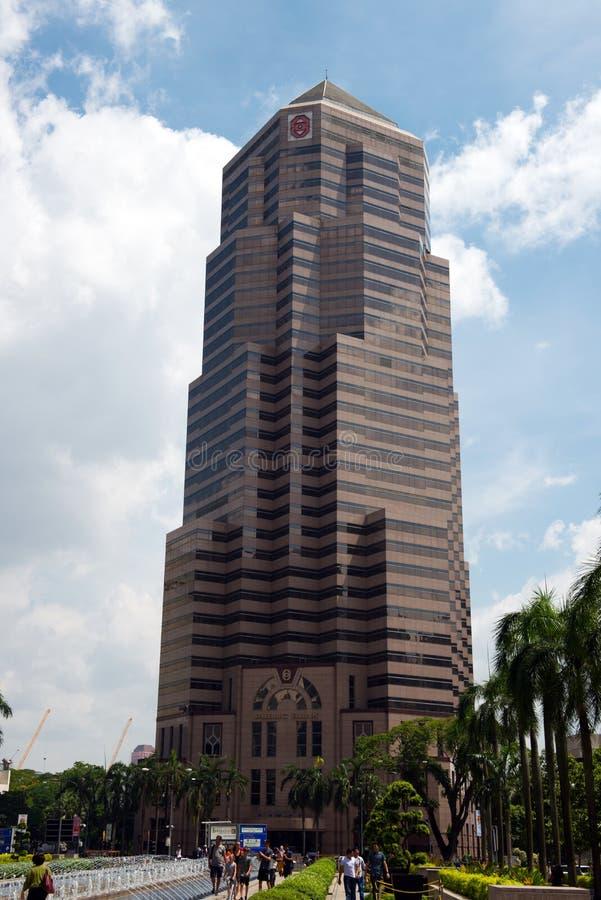 大众银行塔在马来西亚 库存照片