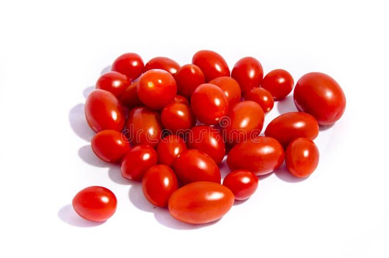 大全部超级明亮的西红柿 免版税库存图片