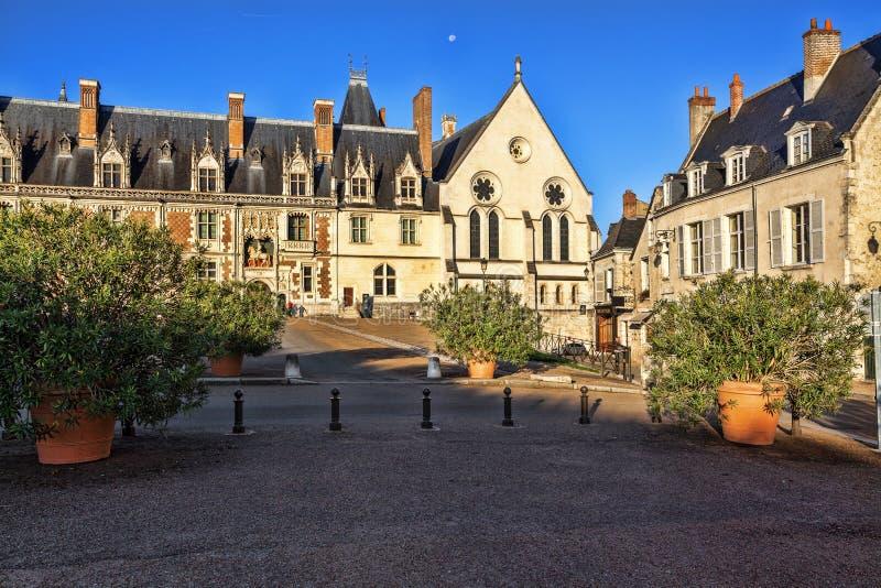 大别墅皇家de布卢瓦 免版税库存照片
