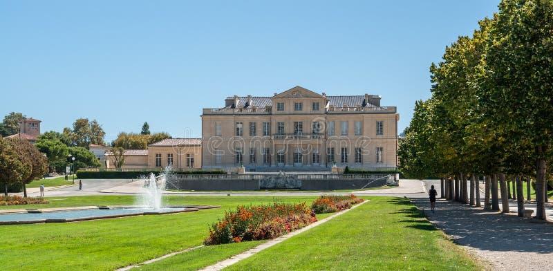 大别墅Borely在马赛在南法国 免版税库存图片