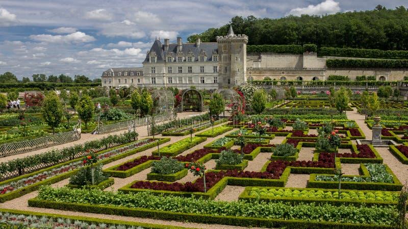 大别墅de科隆比耶尔卢瓦尔河流域法国 库存图片