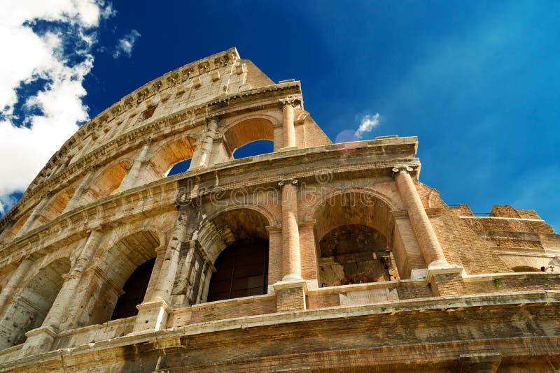 大剧场特写镜头,罗马 库存照片