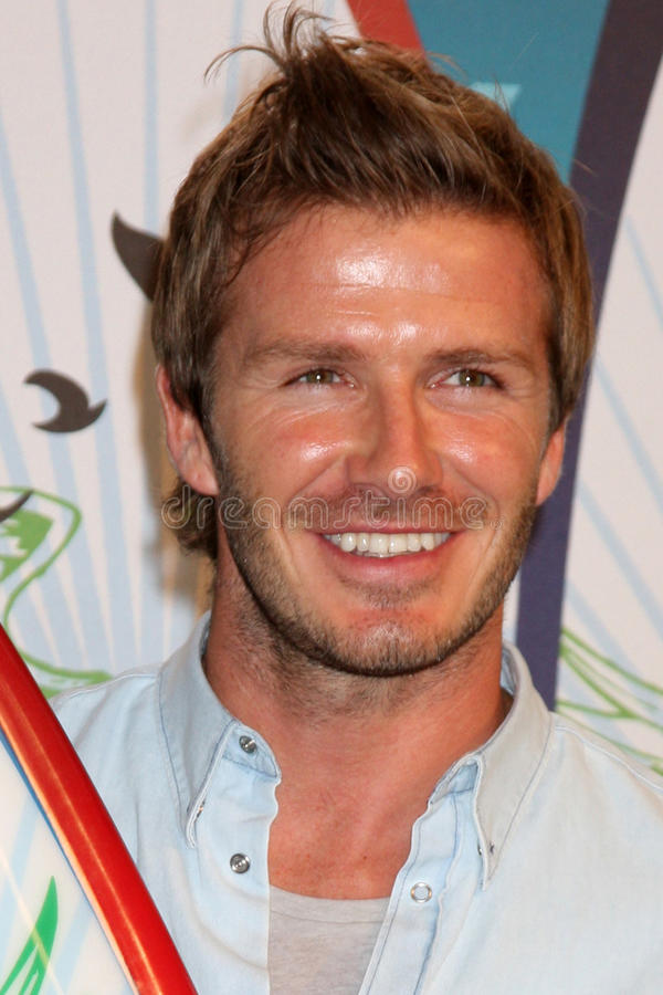 大卫Beckham 免版税库存照片