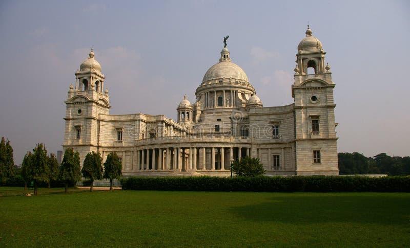 大厅印度kolkata纪念品维多利亚 免版税库存照片