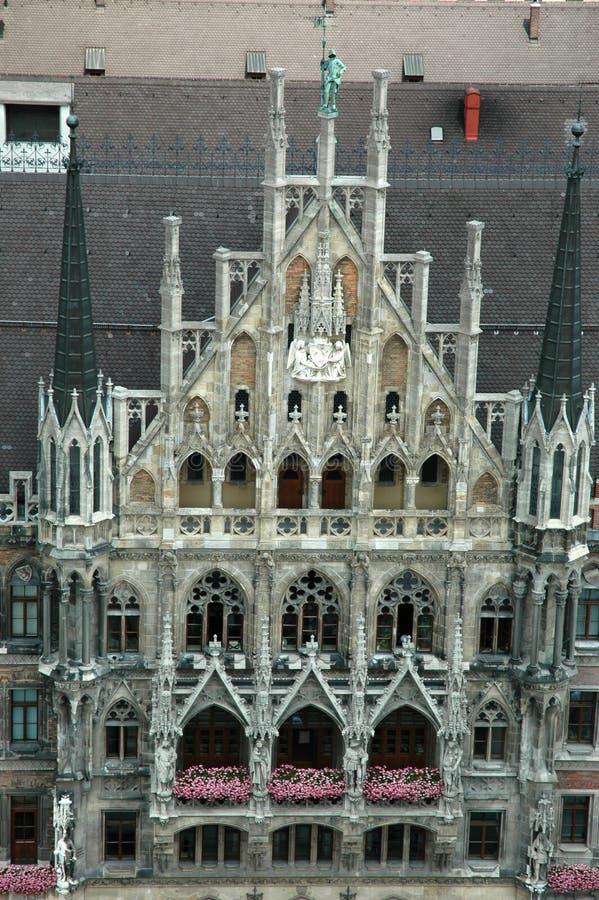 大厅慕尼黑城镇 免版税库存图片