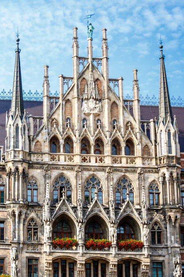 大厅慕尼黑新的城镇 库存照片