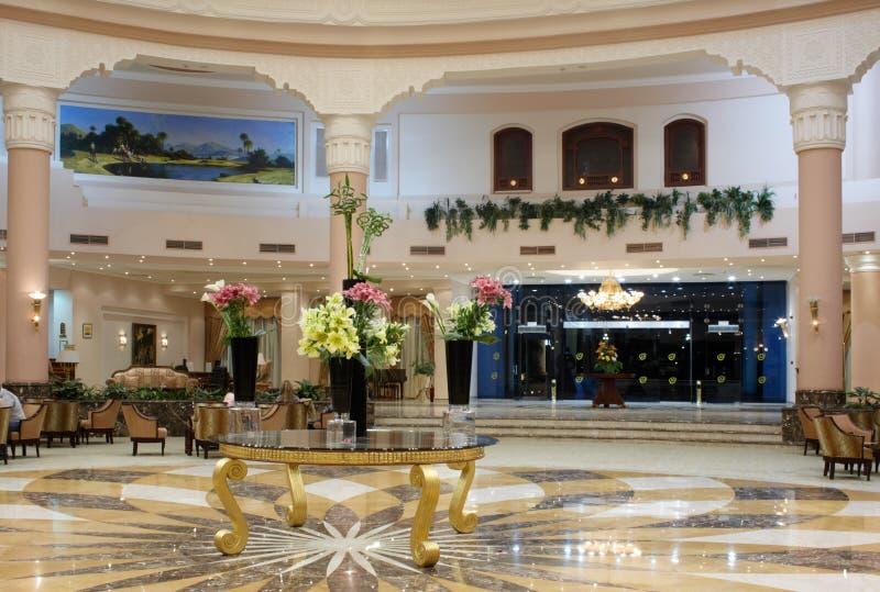 大厅旅馆豪华 免版税库存照片