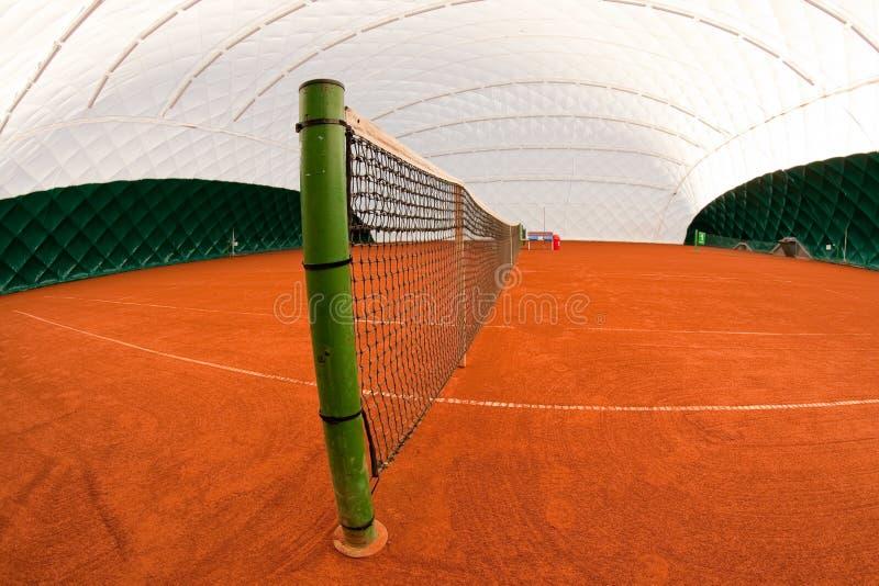 大厅网球 库存图片