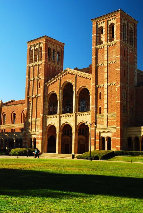 大厅royce加州大学洛杉矶分校 库存照片