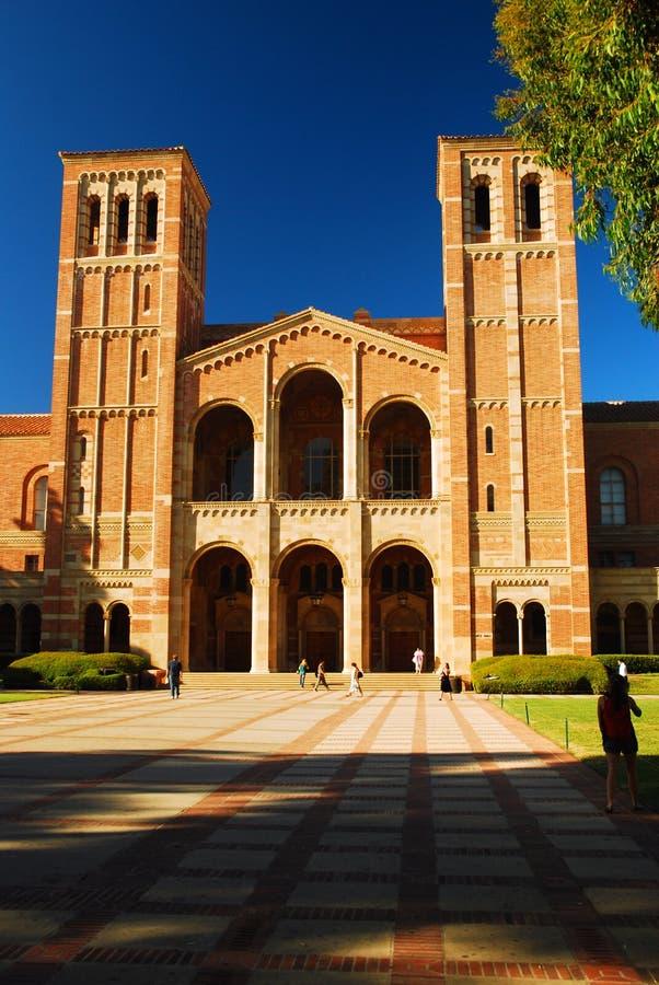 大厅royce加州大学洛杉矶分校 免版税库存照片