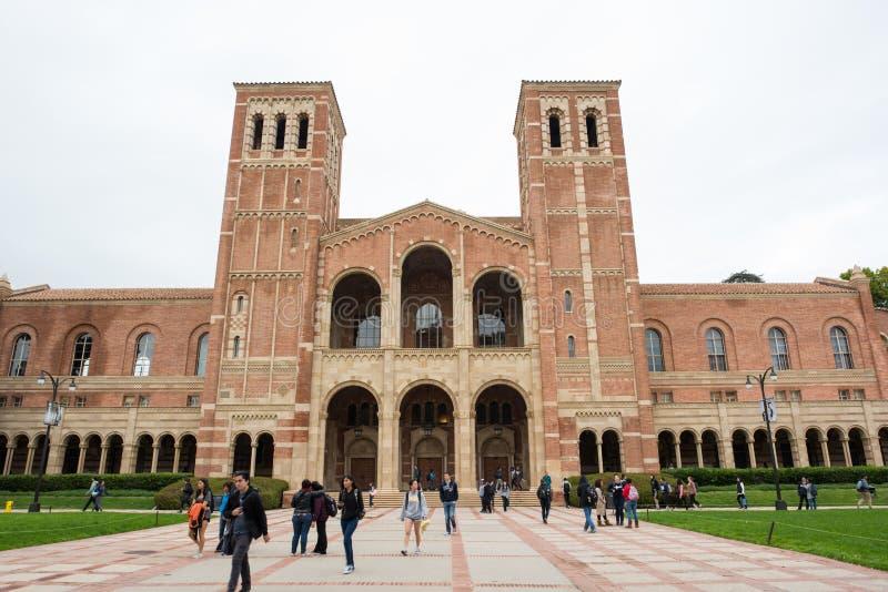 大厅royce加州大学洛杉矶分校 免版税库存图片