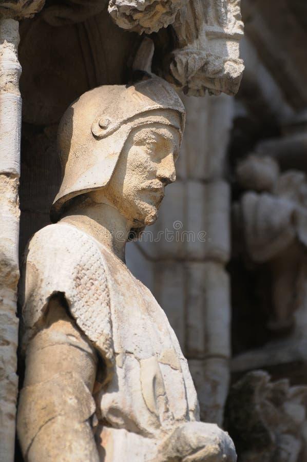 中世纪建筑学细节  免版税库存照片