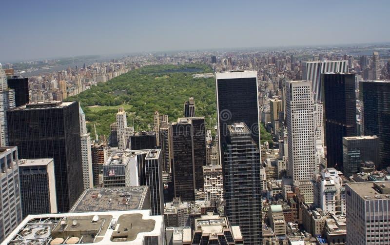 大厦中心城市新的公园摩天大楼约克 免版税库存照片