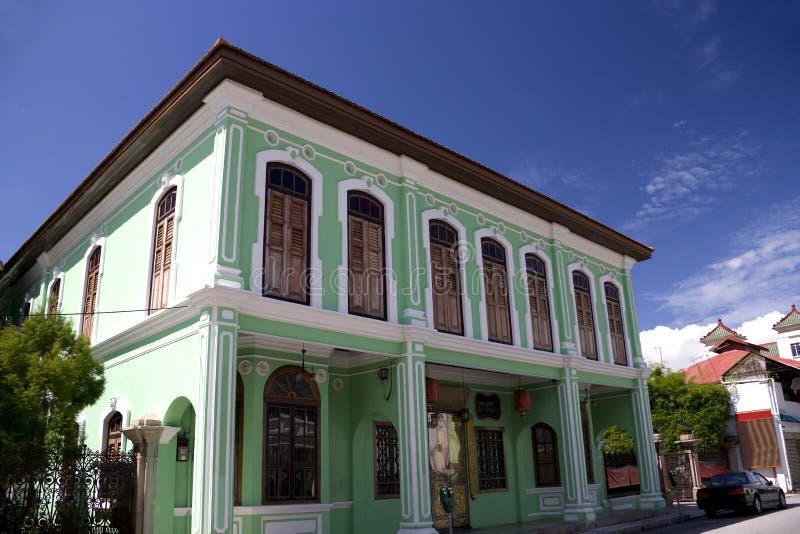 大厦乔治遗产城镇 图库摄影