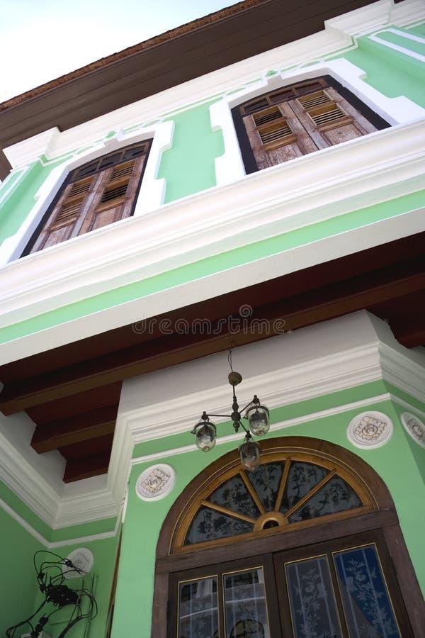 大厦乔治遗产城镇 免版税库存图片