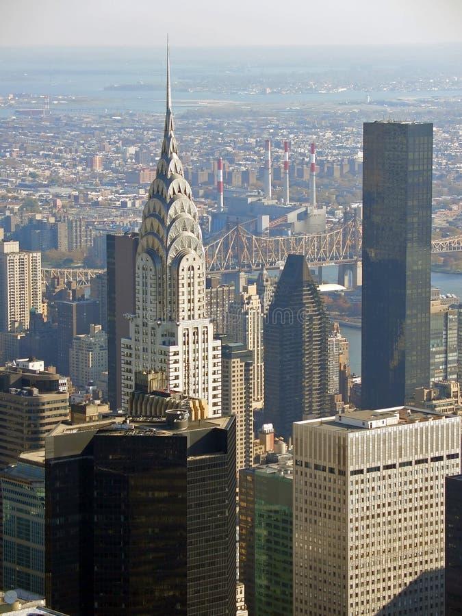 大厦克莱斯勒纽约 免版税库存照片