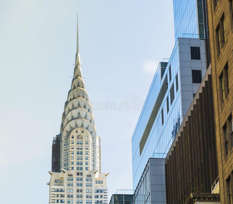 大厦克莱斯勒纽约 图库摄影