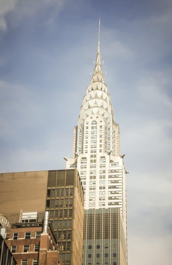大厦克莱斯勒 库存照片
