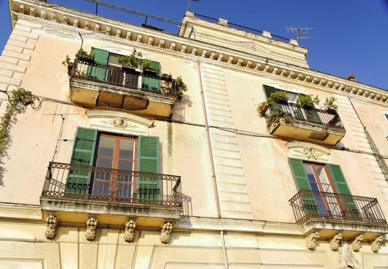大厦典型的意大利 免版税图库摄影
