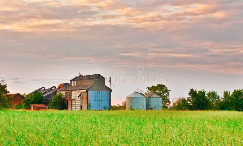 大厦农场 免版税库存图片