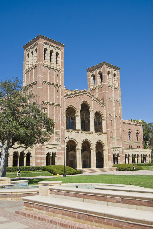 大厦加利福尼亚大学 免版税库存照片