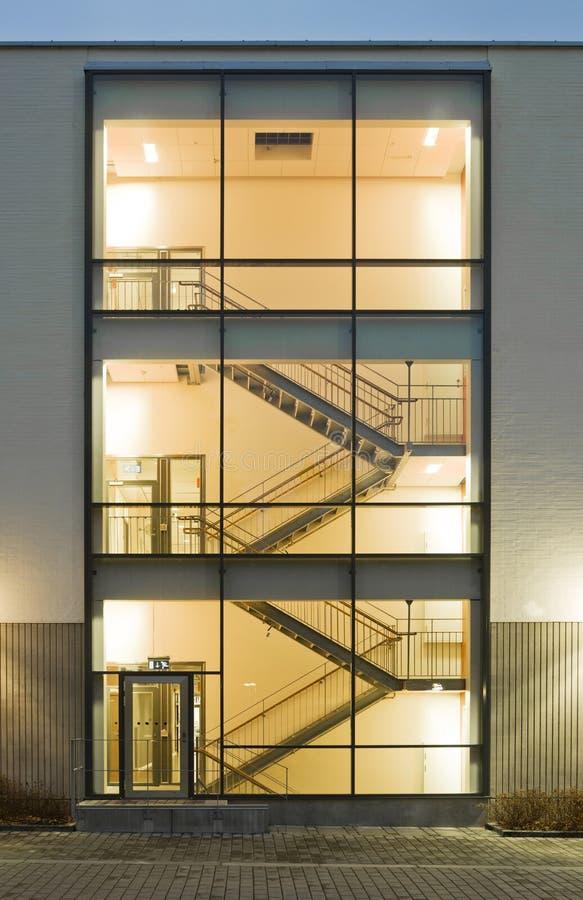 大厦台阶 免版税库存照片