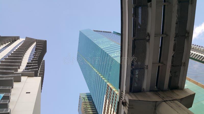 大厦和神 免版税图库摄影
