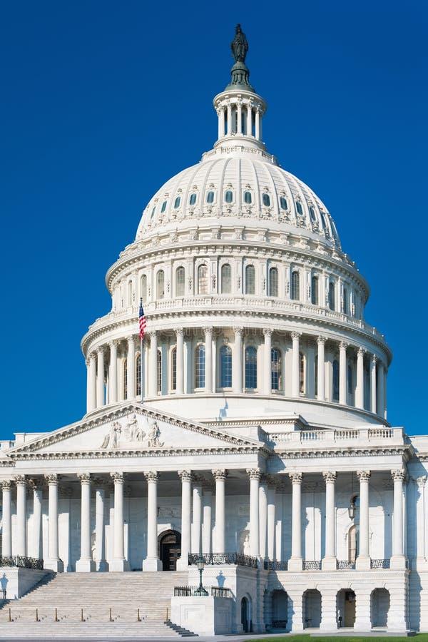 大厦国会大厦华盛顿 免版税库存照片